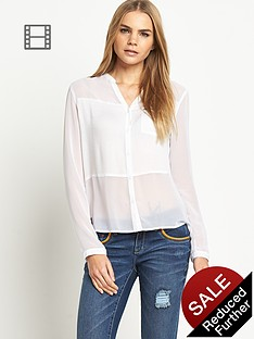 superdry-sheer-panel-shirt