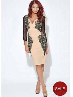 amy-childs-long-sleeve-lace-panel-dress