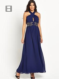 little-mistress-embellished-halter-maxi-dress