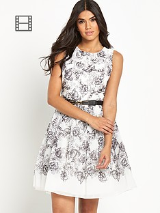 little-mistress-printed-skater-dress