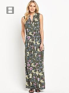south-utility-print-maxi-dress