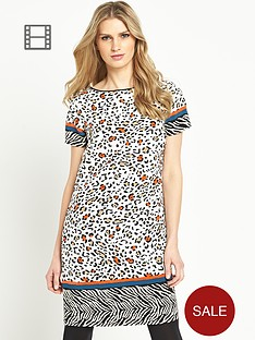south-animal-print-tunic-dress