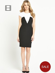 south-colour-block-pencil-dress