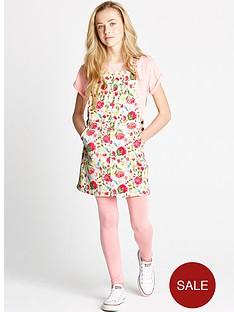 freespirit-girls-floral-print-dungaree-dress