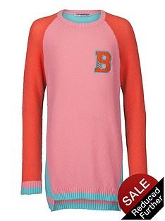 freespirit-girls-loose-fit-colour-block-knitted-jumper