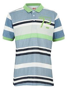 french-connection-striped-polo-shirt