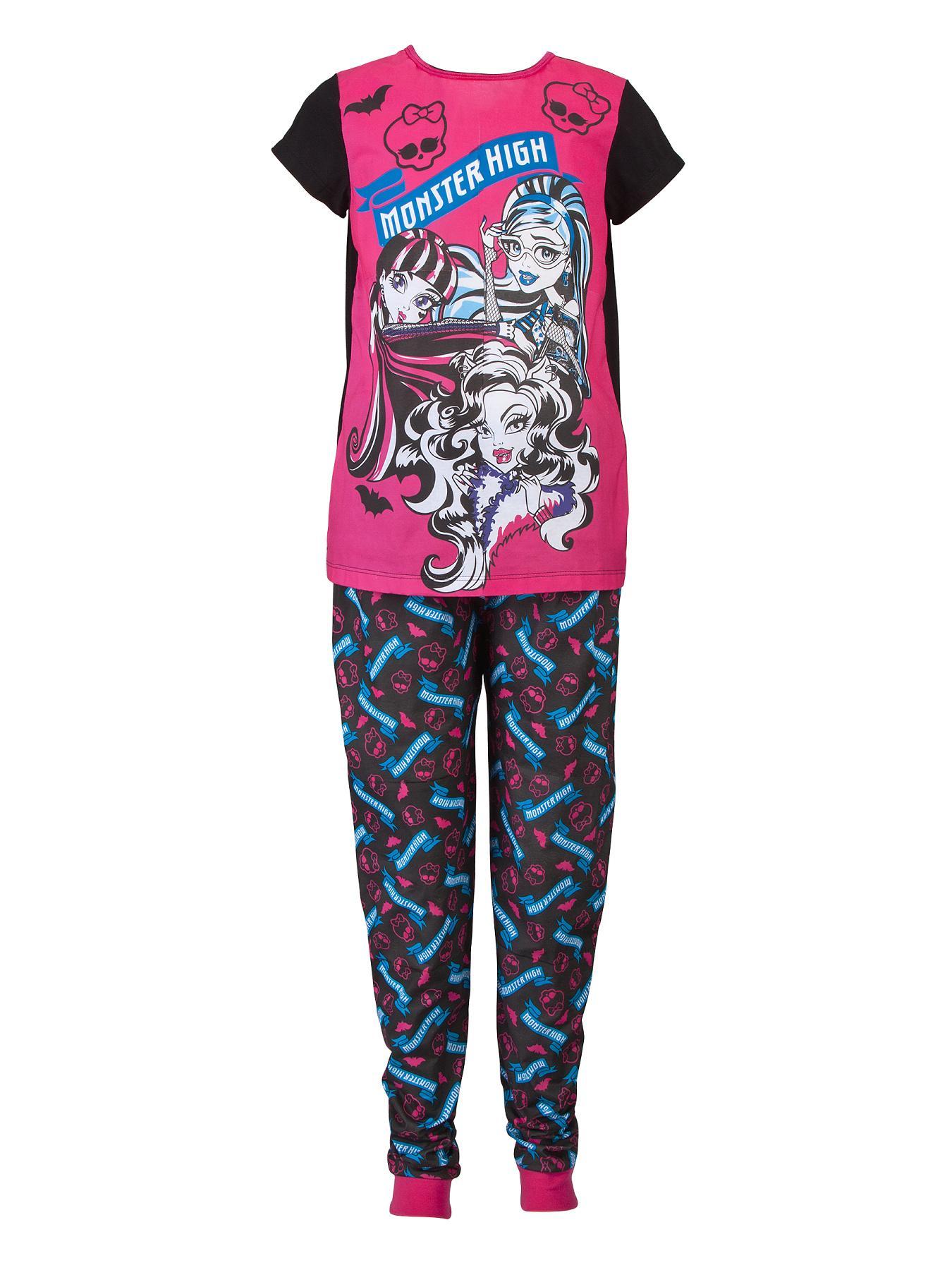 Monster High Pyjamas - Pink, Pink
