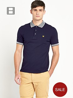lyle-scott-mens-striped-knit-collar-polo-shirt