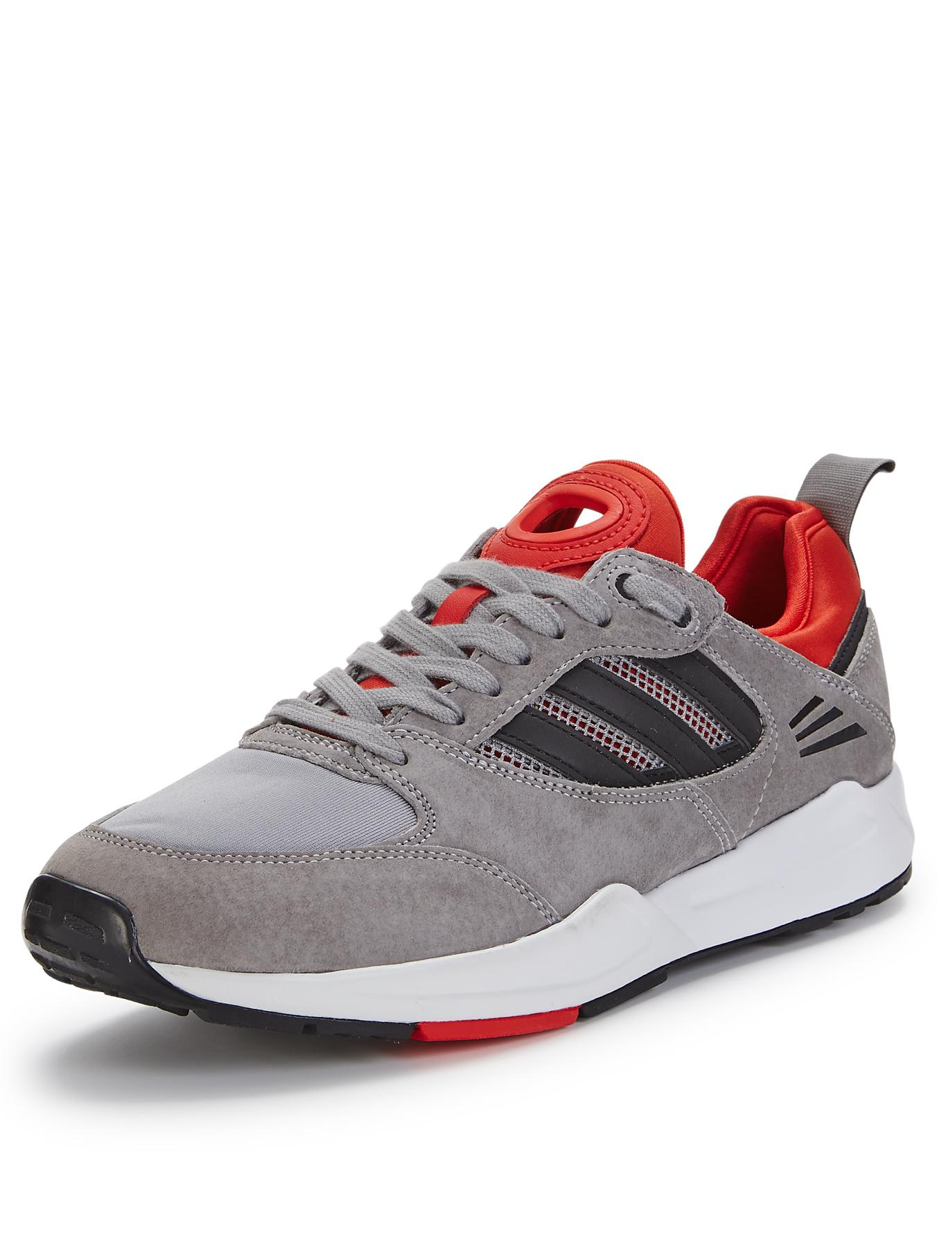 adidas Originals Tech Super Trainers - Grey, Grey