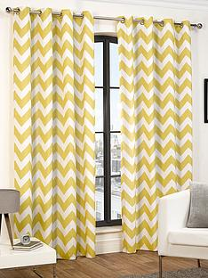 chevron-eyelet-curtains