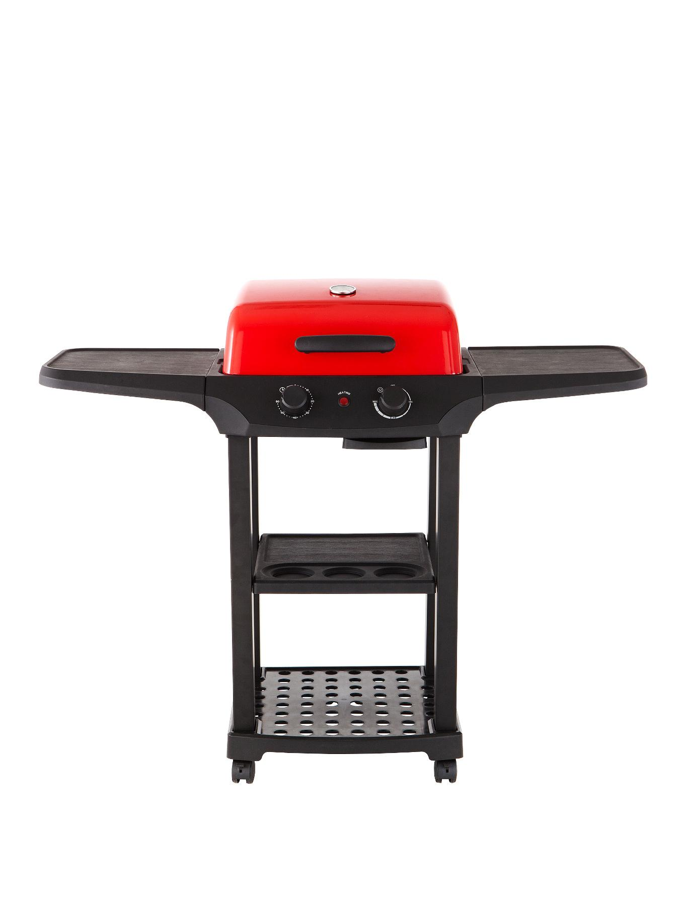 Outdoor Electric BBQ Grill with Cast Aluminium Lid