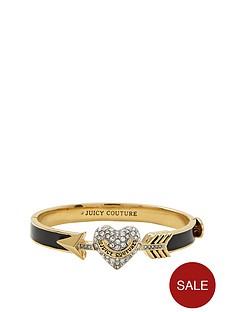 juicy-couture-crystal-set-heart-and-arrow-black-enamel-bangle