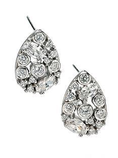 fiorelli-sterling-silver-clear-cubic-zirconia-large-teardrop-earrings