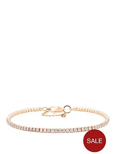 tresor-paris-rose-gold-plated-on-sterling-silver-tennis-bracelet