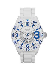 adidas-newburgh-white-nylon-case-white-silicone-strap-mens-watch