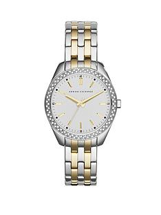 armani-exchange-silver-dial-and-silver-gold-ip-plated-bracelet-ladies-watch