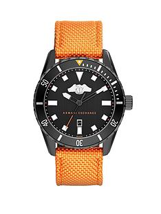 armani-exchange-black-dial-and-orange-woven-nylon-strap-mens-watch