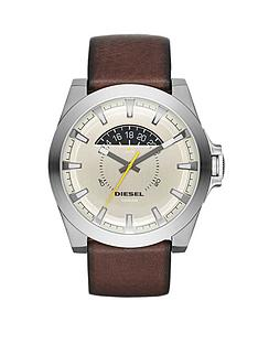 diesel-arges-gunmetal-dial-stainless-steet-brown-leather-strap-mens-watch