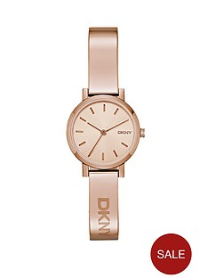 dkny-soho-stainless-steel-rose-gold-tone-half-bangle-ladies-watch