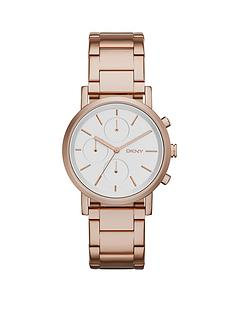 dkny-soho-chronograph-rose-gold-tone-stainless-steel-bracelet-ladies-watch