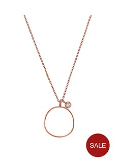 skagen-sea-glass-rose-gold-tone-necklace