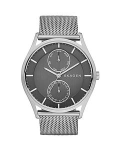 skagen-holst-mesh-strap-mens-watch