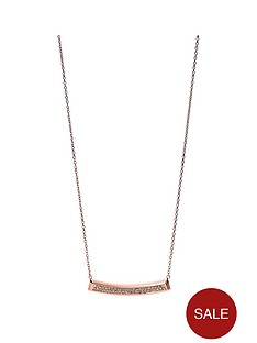 fossil-rose-gold-tone-necklace