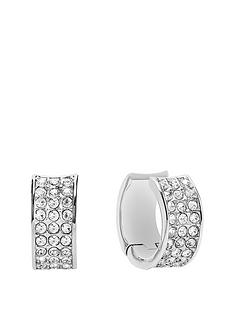 guess-rhodium-plated-crystal-creole-earrings
