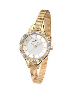 accurist-stone-set-gold-tone-mesh-bracelet-ladies-watch