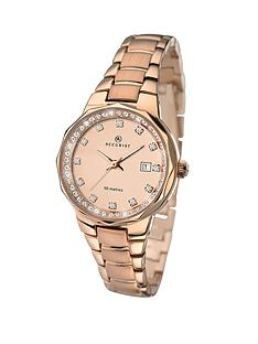 accurist-rose-gold-stainless-steel-ladies-watch
