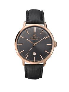 accurist-rose-gold-tone-stainless-steel-brown-leather-strap-mens-watch