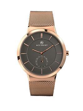 accurist-rose-gold-tone-bracelet-mens-watch