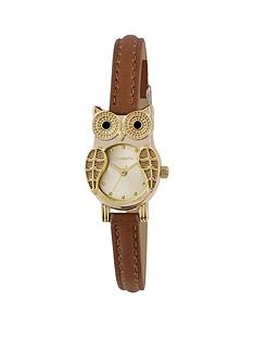 accessorize-crystal-set-owl-dial-brown-strap-ladies-watch