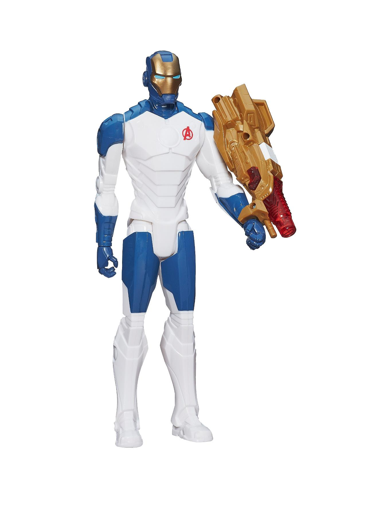The Avengers Titan Hero Light up Beam Blaster Iron Man
