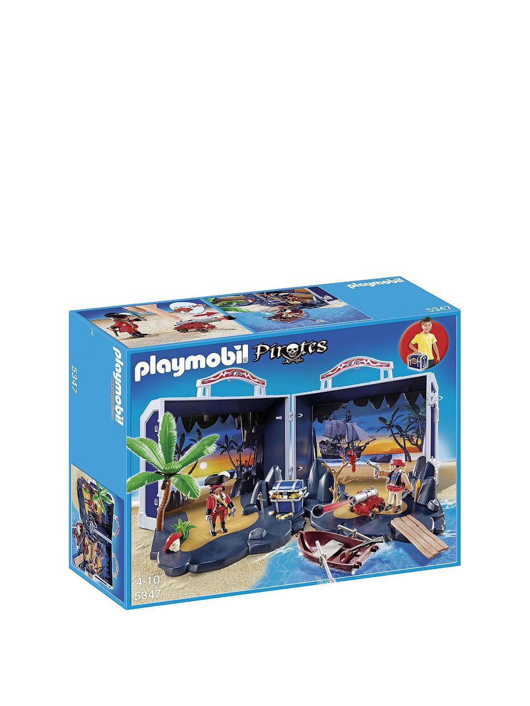 Playmobil Take Along Pirate Treasure Chest Playmobil-take-along-pirates