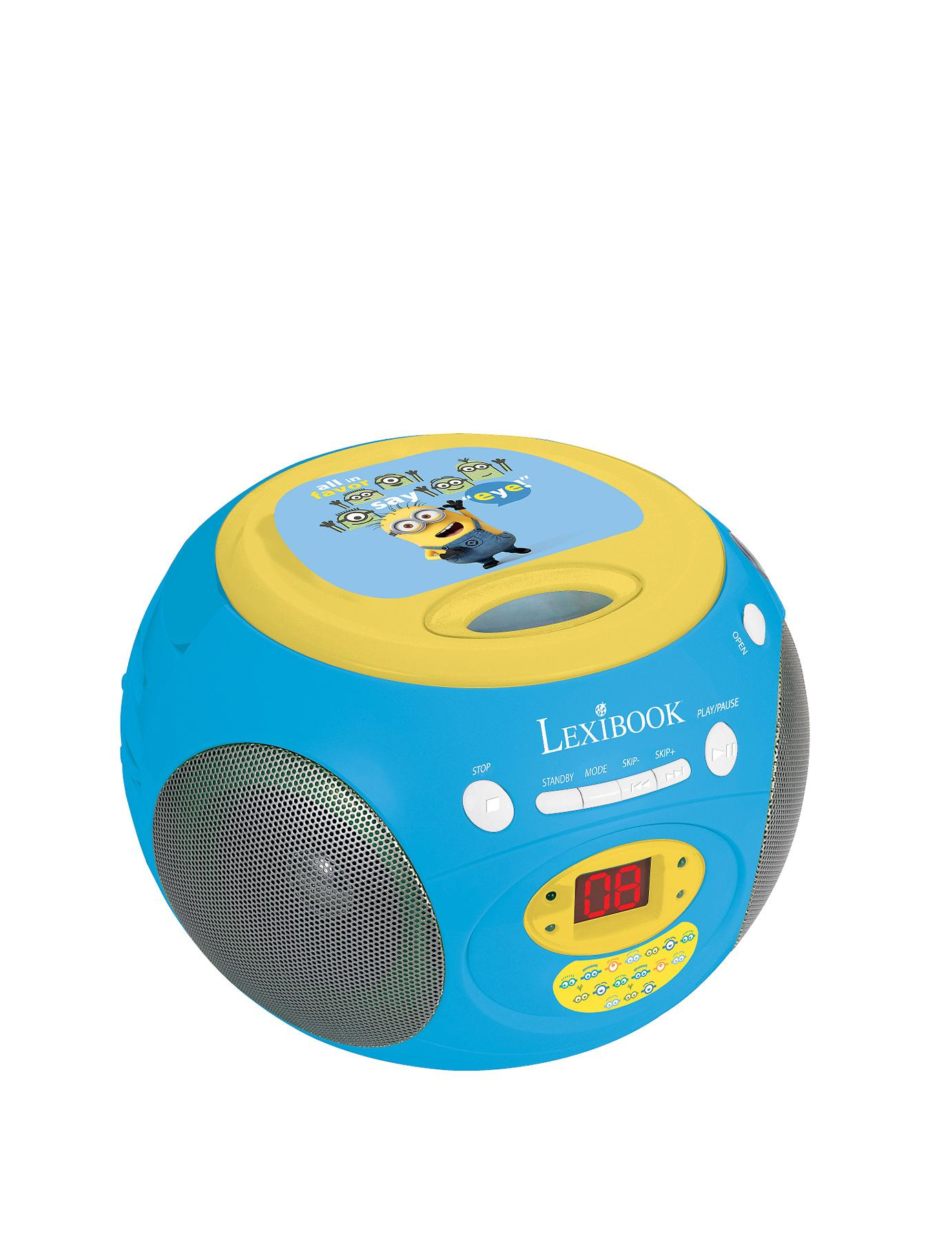 Despicable Me Lexibook Radio CD Player