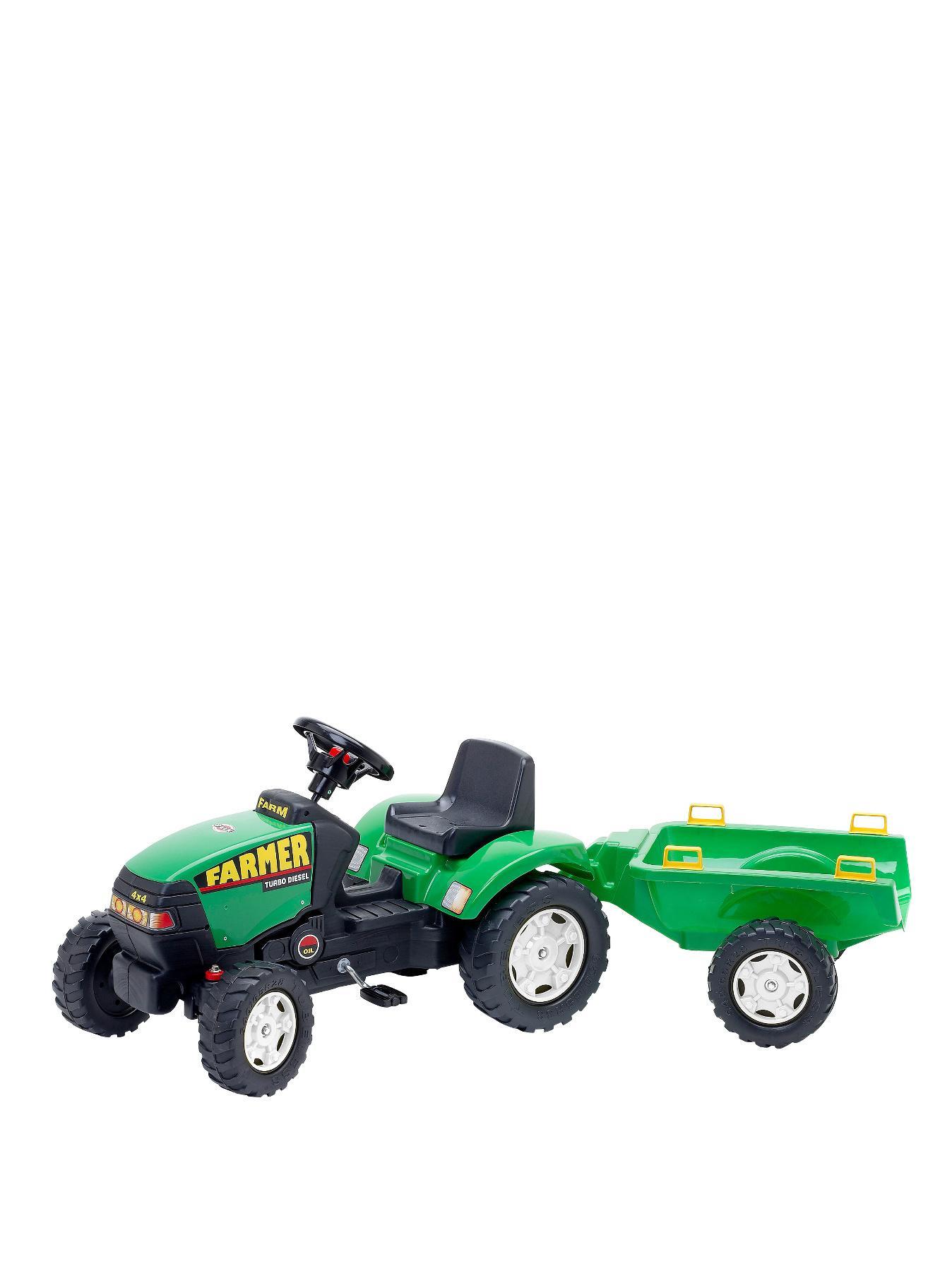 FALK Farmer Tractor and Trailer
