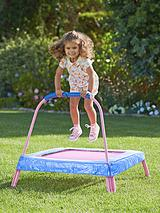 Junior Trampoline with Pad - Pink