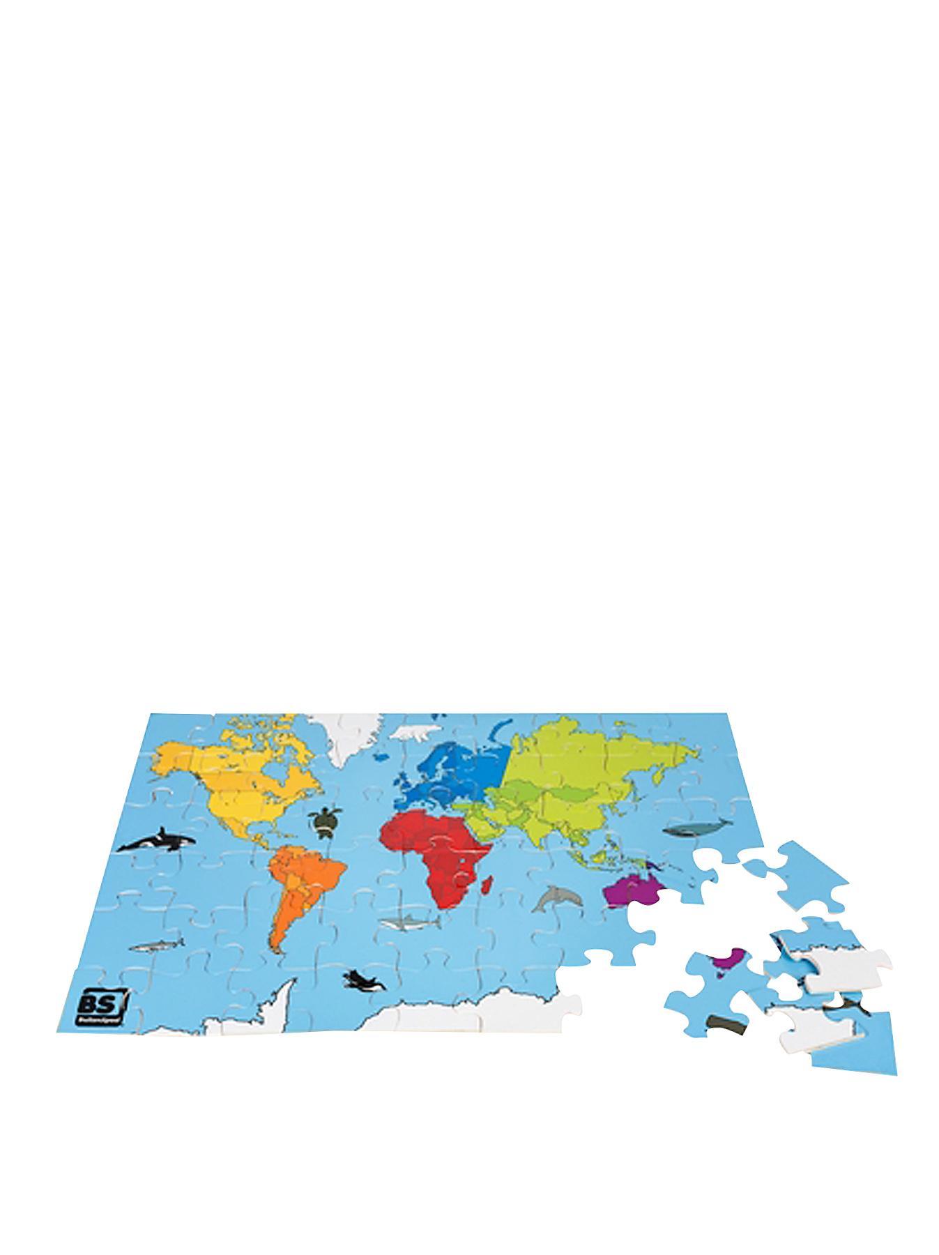 54-Piece World Puzzle