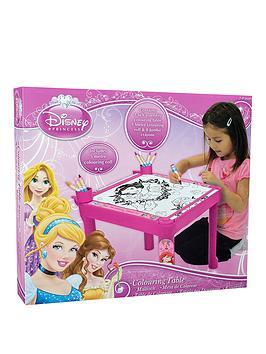 disney-princess-colouring-table