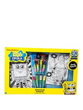 spongebob-squarepants-3d-poster-box-set