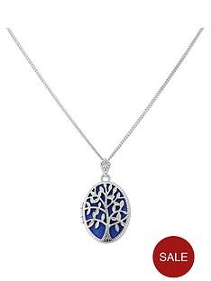 keepsafe-sterling-silver-blue-inset-tree-of-life-oval-locket