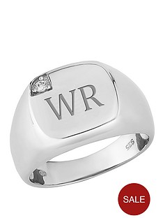 keepsafe-personalised-sterling-silver-cubic-zirconia-set-square-heavyweight-mens-ring