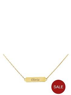keepsafe-keepsafe-personalised-9-carat-gold-tag-pendant