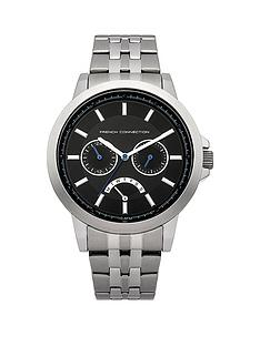 french-connection-silver-tone-mens-bracelet-watch