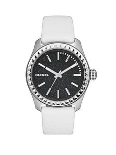 diesel-kray-kray-38-blue-dial-and-stainless-steel-white-leather-strap-ladies-watch