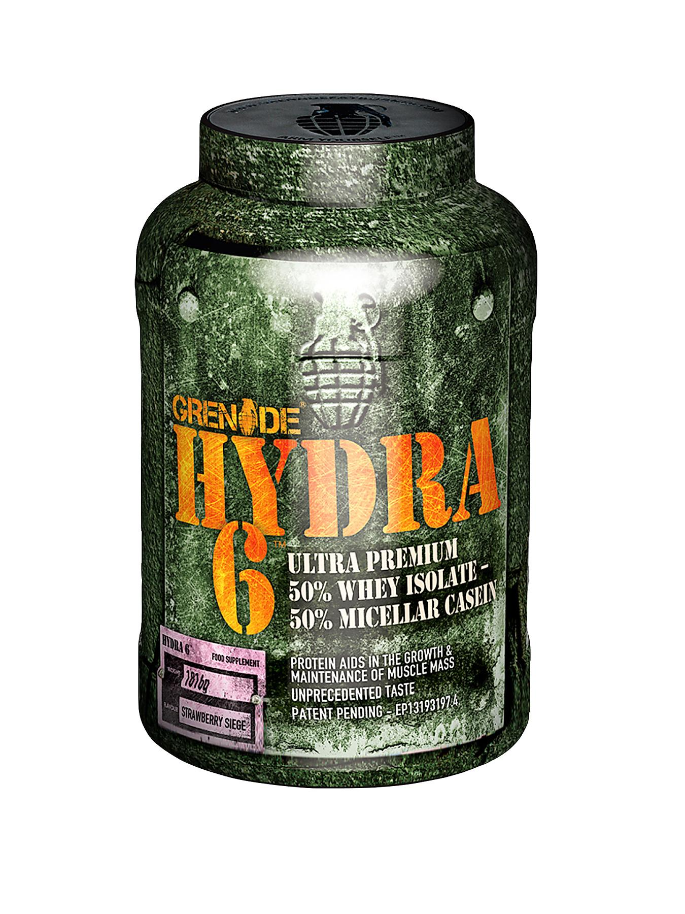 GRENADE Hydra Protein Powder 1.8kg Strawberry Siege