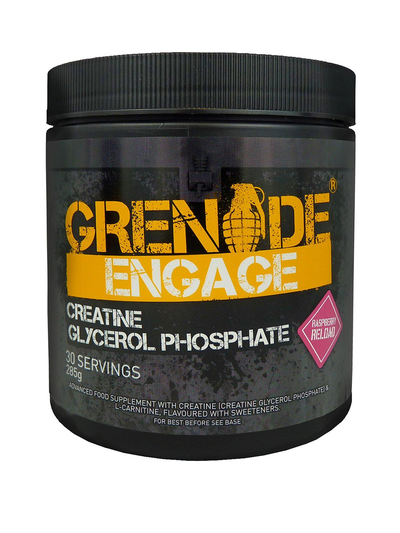 GRENADE Engage Creatine Powder - Raspberry Reload
