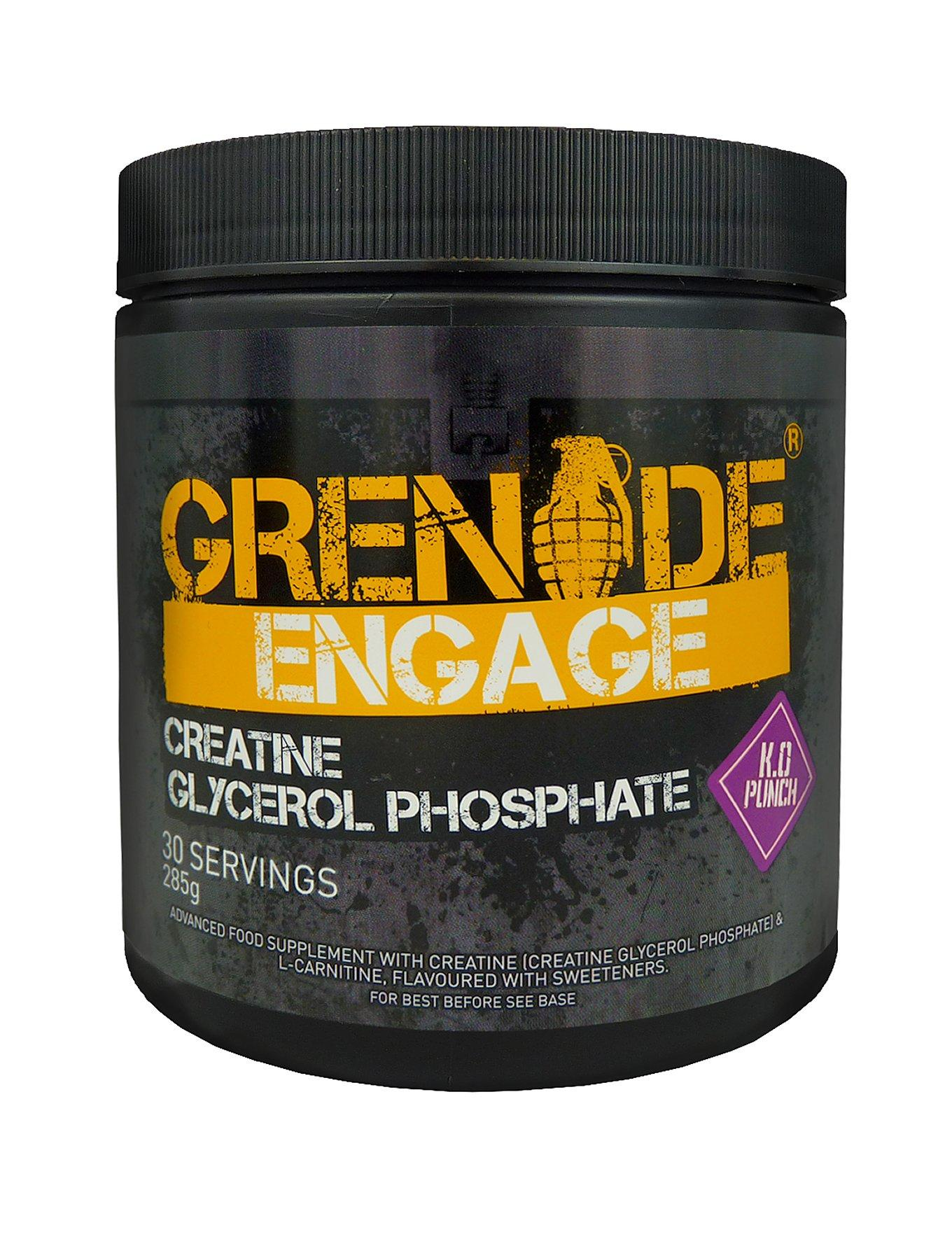 GRENADE Engage Creatine Powder - KO Punch