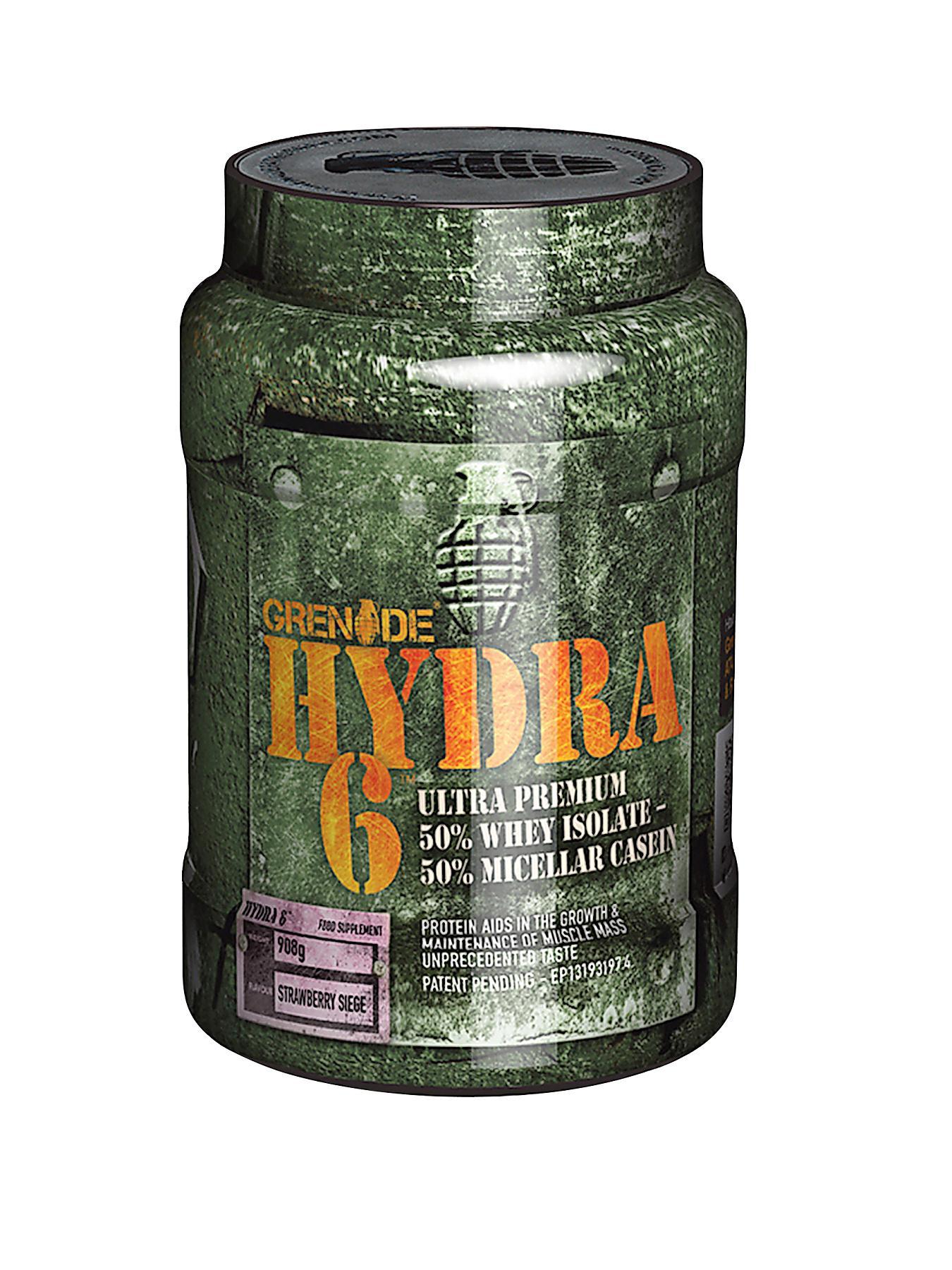 GRENADE Hydra Protein Powder 908g Strawberry Siege